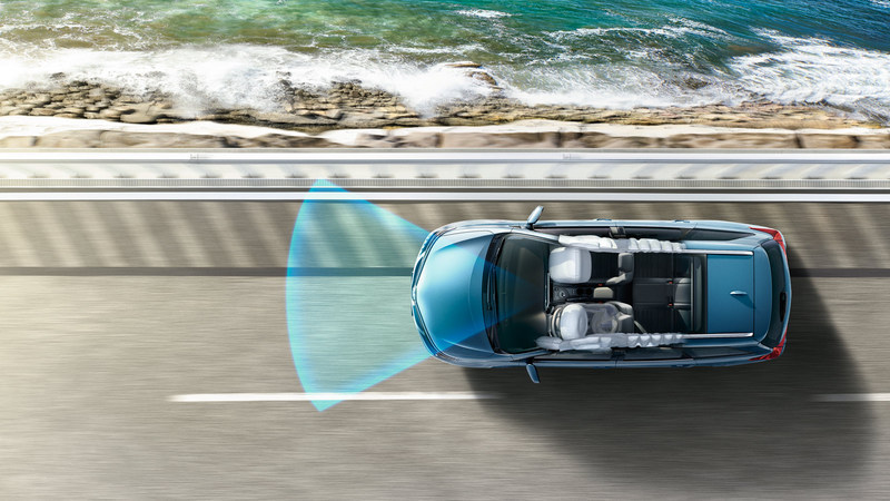 De nieuwe Auris TS 2015 Van Ekris Safety Sense