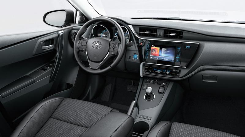 De nieuwe Auris TS 2015 Van Ekris dashboard