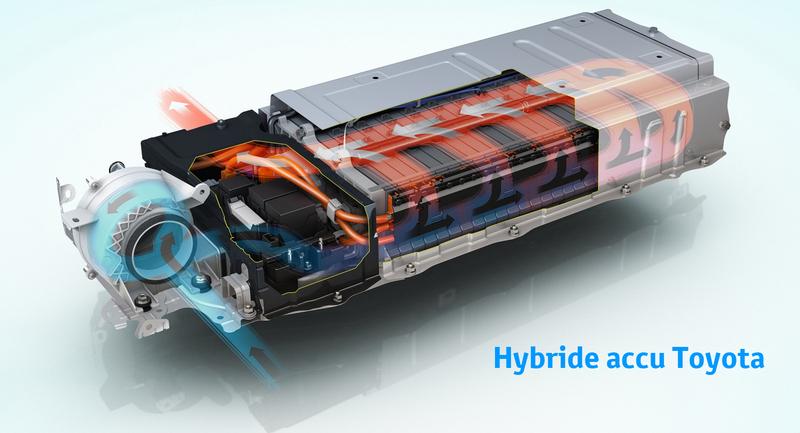 Toyota hybride accu vervangen repareren bij Van Ekris