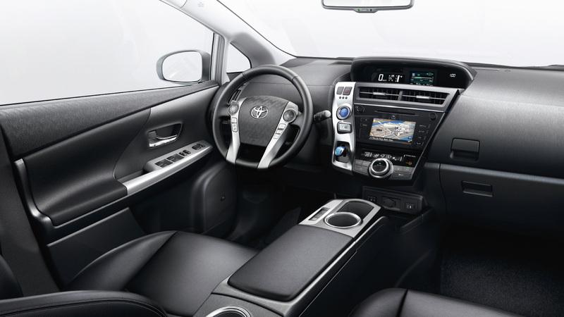 interieur Prius Plus