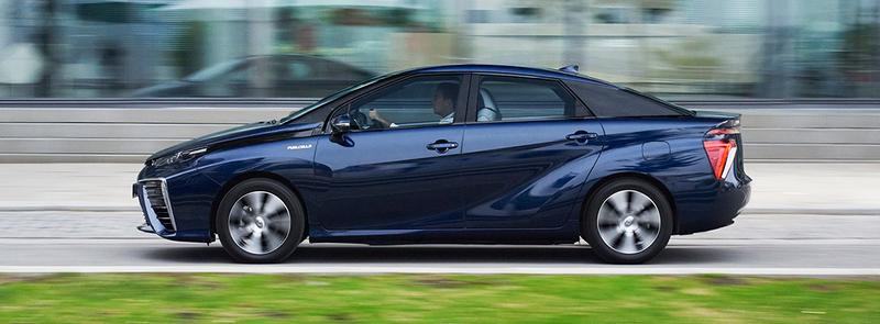 Toyota Mirai waterstof bestellen