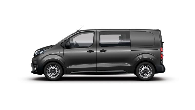 Toyota ProAce dubbel cabine Van Ekris