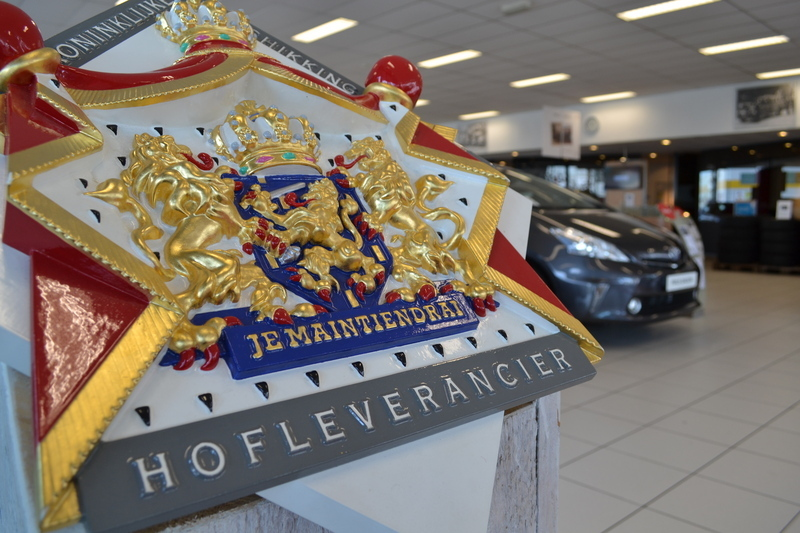 Hofleverancier logo Van Ekris Automotive Maarssen