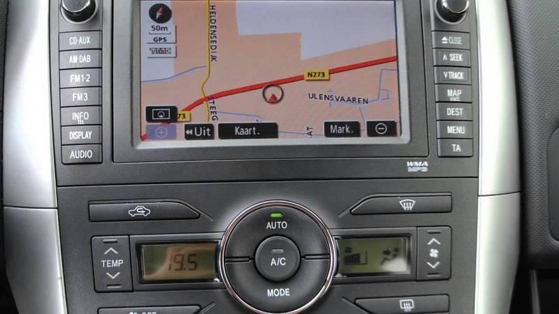 Toyota Navigatie Handleidingen Oudere Modellen Nieuws
