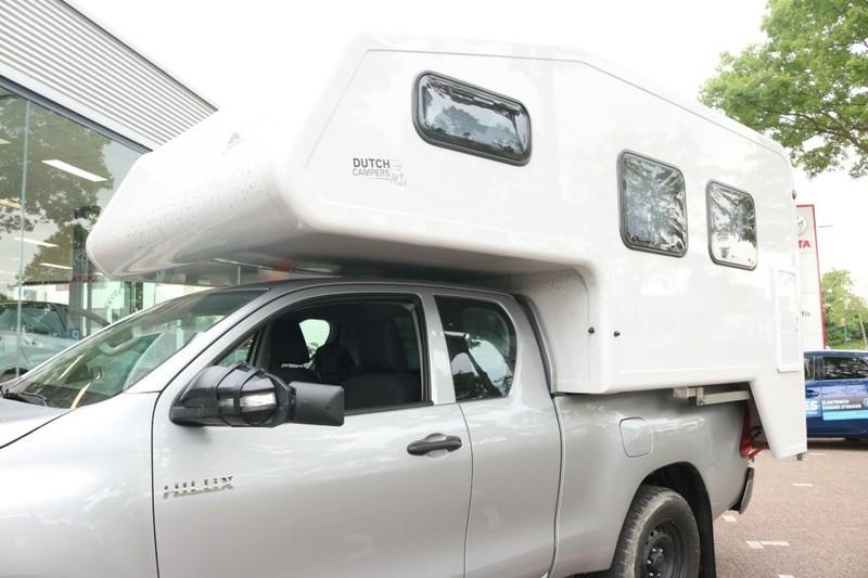 Toyota Hilux Camper 2018 bij Van ekris