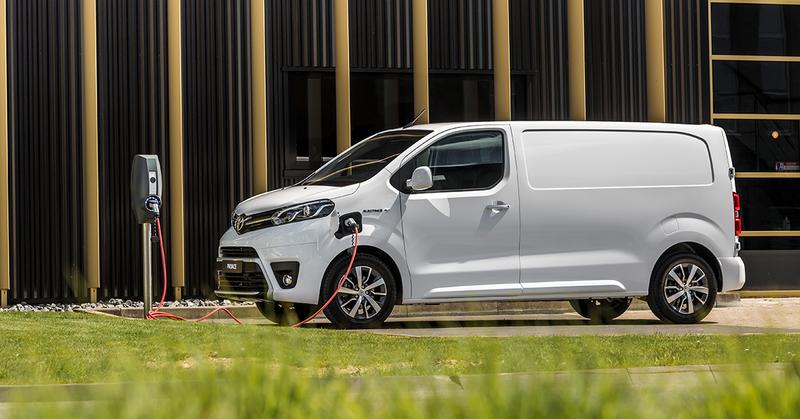 Voordelen ProAce Elektric EV 2021 Toyota van Ekris