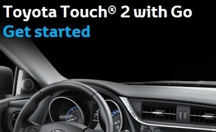 Toyota Touch 2 with Go-navigatiesysteem update
