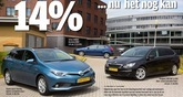 Auris Hybrid Touring Sports klopt concurrenten